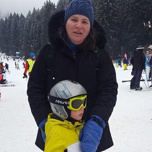 Parerea Georgianei dupa orele de ski la EdenSki